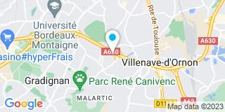 Plan Carte Artemis Menuiseries à Villenave-d'Ornon