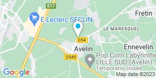 Plan Carte Duriez Pierre à Avelin