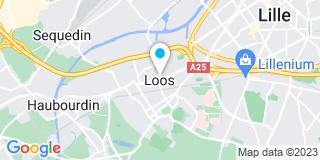 Plan Carte Société nouvelle Alexandre à Loos