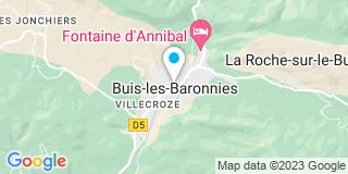 Plan Carte Barbier Alain à Buis-les-Baronnies