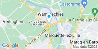 Plan Carte Le kiosque aménagement à Wambrechies
