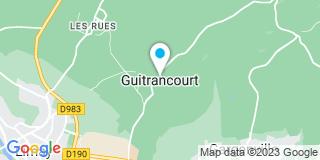 Plan Carte Menuiserie Monego et Fils à Guitrancourt