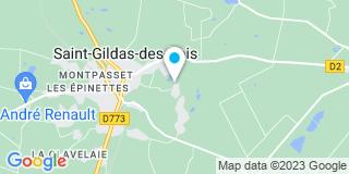 Plan Carte Tremblay Dominique à Saint-Gildas-des-Bois