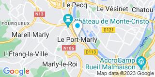 Plan Carte Jaime Ribeiro au Port-Marly