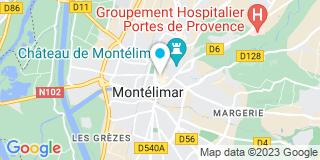 Plan Carte Sv2a à Montelimar
