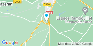 Plan Carte Jeulain à Rambouillet