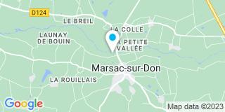 Plan Carte Frerejouan à Marsac-sur-Don