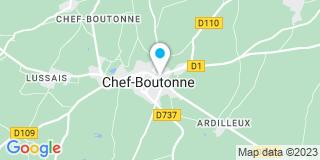 Plan Carte Roy Jean-Pierre à Chef-Boutonne