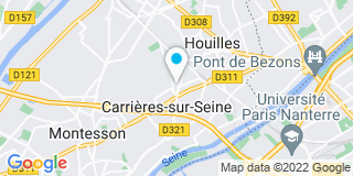 Plan Carte Menuiserie Agencement Parquet (Map) à Houilles