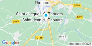 Plan Carte STB Larges à Saint-Jean-de-Thouars
