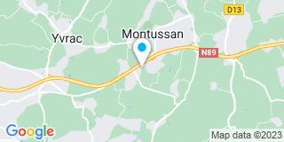 Plan Carte A3m Atlantique Munoz Maurin Menuiserie à Montussan