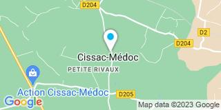 Plan Carte Alu Médoc à Cissac-Médoc