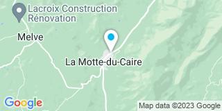 Plan Carte Moscadelli André à La Motte du Caire