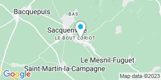 Plan Carte Plessix à Sacquenville