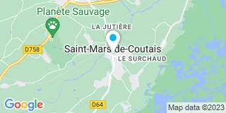 Plan Carte Saint Mars Fermetures et Confort  à Saint-Mars-de-Coutais