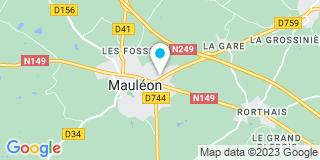 Plan Carte Pasquereau à Mauleon