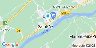 Plan Carte Agencement Bonsergent à Saint-Ay