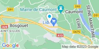 Plan Carte Gilbert à Saint-Ouen-de-Thouberville