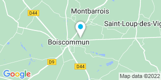 Plan Carte Thariot Max à Boiscommun