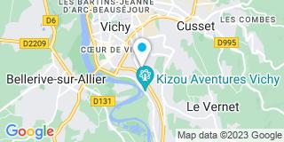 Plan Carte Méridia Fermetures Stores Et Vérandas à Vichy