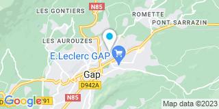 Plan Carte Alpes Confort à Gap