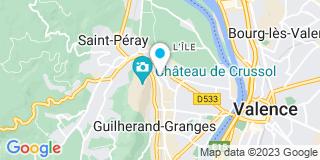 Plan Carte Metal Verre à Saint-Péray