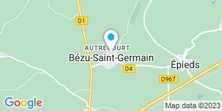 Plan Carte Omois Isolation Confort à Bézu-Saint-Germain