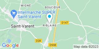Plan Carte Pascal Clerc à Saint-Varent