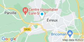 Plan Carte As de Carreau 27 à Evreux