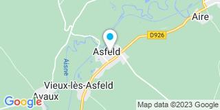 Plan Carte Performa à Asfeld
