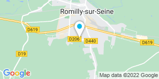 Plan Carte Clareo  à Romilly-sur-Seine