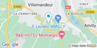 Plan Carte Les Charpentes Du Gatignais à Villemandeur