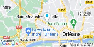 Plan Carte J. Tourne à Saint-Jean-de-la-Ruelle