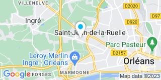 Plan Carte Cogecem  à Saint-Jean-de-la-Ruelle