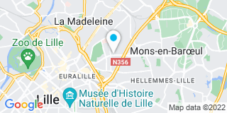Plan Carte L'entreprise Watteau à Lille