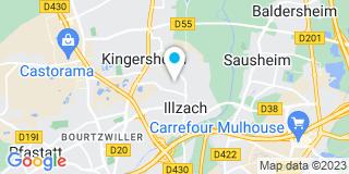 Plan Carte Kleinhenny Pierre Menuiserie à Illzach