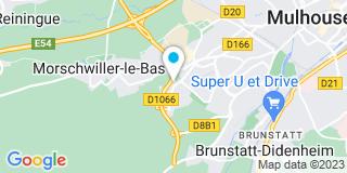 Plan Carte Habitat'Eco à Mulhouse