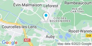 Plan Carte V Deneulin à Auby