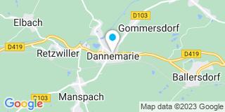 Plan Carte Krembel Raymond à Dannemarie