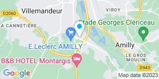 Plan Carte Stores Jem à Amilly