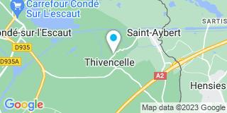 Plan Carte Bruno Ruelle à Thivencelle