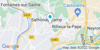 Plan Carte Covolo à Rillieux-la-Pape