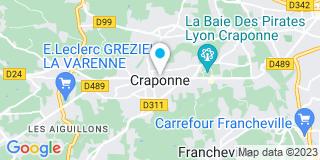 Plan Carte Faure à Grézieu-la-Varenne