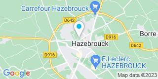 Plan Carte Duvette à Hazebrouck