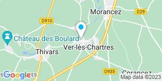 Plan Carte Entreprise Colas Guy à Ver Les Chartres