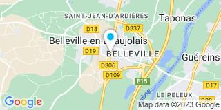 Plan Carte MGP (Menuiserie Générale Premieux) à Belleville