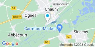 Plan Carte Bovinelli à Achères