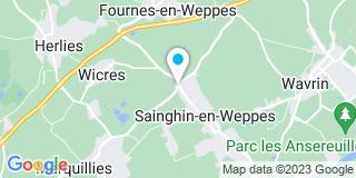 Plan Carte Lorthoy à Sainghin-en-Weppes