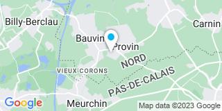 Plan Carte Sl menuiserie à Provin
