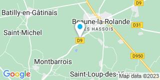 Plan Carte S.M.D Vérandas à Boiscommun